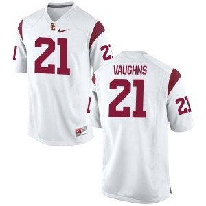Tyler Vaughns Nike USC Trojans Women's Authentic Football Jersey  -  White